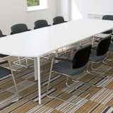 White table meeting room