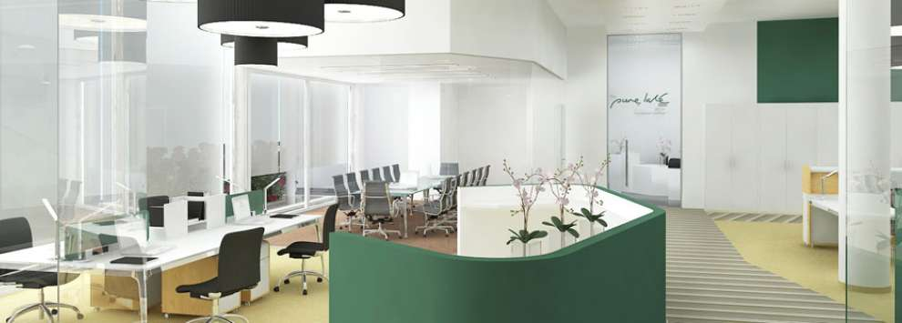 Interiors from JS Office Environments, the market leaders