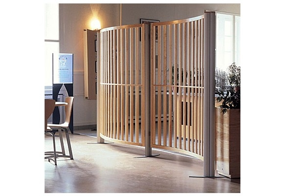 Screenplus simplcity wood office screens
